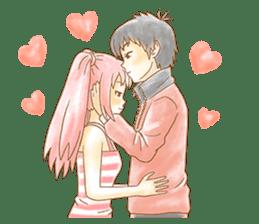 About love love love sticker #2885659