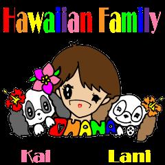 Hawaiian  Family Vol.1 Aloha message