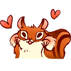 Ato's squirrel-a little sweetheart