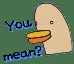 Pigeon Thumb Stickers sticker #2894255