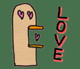 Pigeon Thumb Stickers sticker #2894283