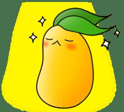 Sweet Jelly mango sticker #2898362