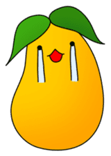 Sweet Jelly mango sticker #2898369