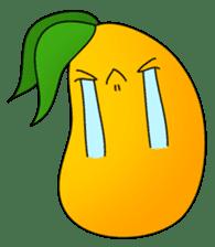 Sweet Jelly mango sticker #2898370