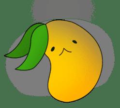 Sweet Jelly mango sticker #2898379