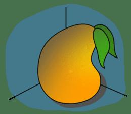 Sweet Jelly mango sticker #2898380