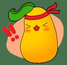 Sweet Jelly mango sticker #2898390