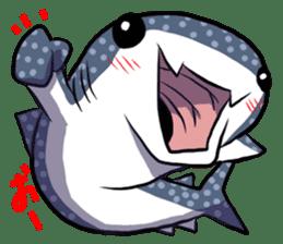 Kawaii Whale shark sticker #2900795