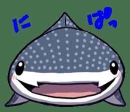 Kawaii Whale shark sticker #2900796