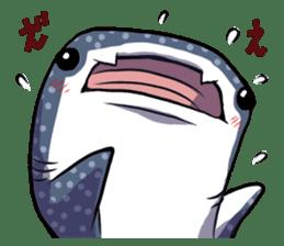 Kawaii Whale shark sticker #2900801