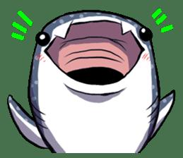 Kawaii Whale shark sticker #2900802