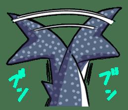 Kawaii Whale shark sticker #2900816