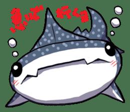 Kawaii Whale shark sticker #2900818