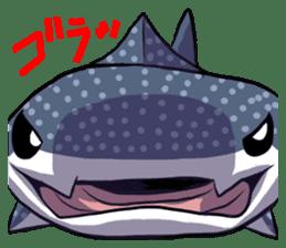 Kawaii Whale shark sticker #2900820