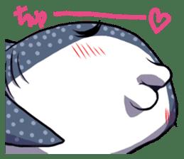 Kawaii Whale shark sticker #2900829