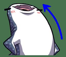 Kawaii Whale shark sticker #2900830