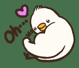 A muscular bird sticker #2902475