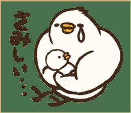 A muscular bird sticker #2902491