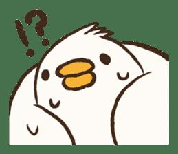 A muscular bird sticker #2902499