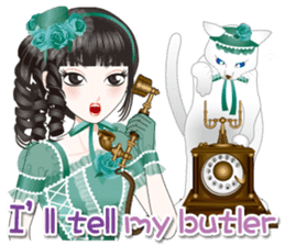 My lady and a butler  [ English Ver. ] sticker #2906254