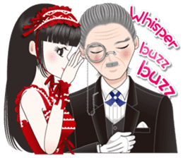 My lady and a butler  [ English Ver. ] sticker #2906255