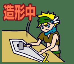 Cosplayer Daiba-chan sticker #2910292