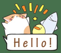 a Balloon Chatty Cat sticker #2912748