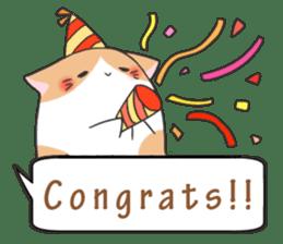a Balloon Chatty Cat sticker #2912749
