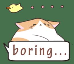 a Balloon Chatty Cat sticker #2912751