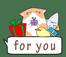 a Balloon Chatty Cat sticker #2912752