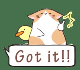 a Balloon Chatty Cat sticker #2912755