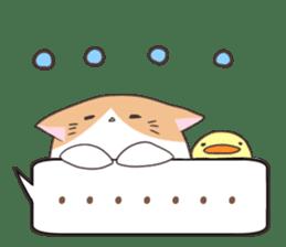 a Balloon Chatty Cat sticker #2912758