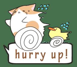 a Balloon Chatty Cat sticker #2912762