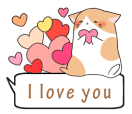 a Balloon Chatty Cat sticker #2912763