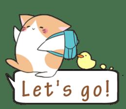 a Balloon Chatty Cat sticker #2912769