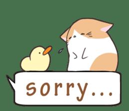 a Balloon Chatty Cat sticker #2912782