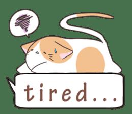 a Balloon Chatty Cat sticker #2912784
