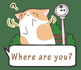 a Balloon Chatty Cat sticker #2912786