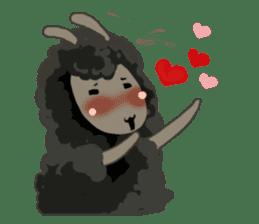 Llama in Love: Happy Valentine sticker #2913628