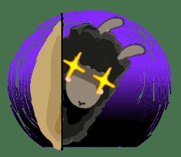 Llama in Love: Happy Valentine sticker #2913631