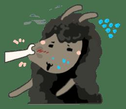 Llama in Love: Happy Valentine sticker #2913633