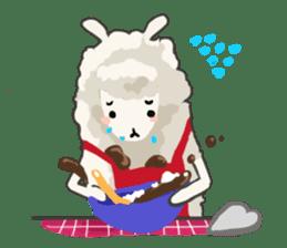 Llama in Love: Happy Valentine sticker #2913647