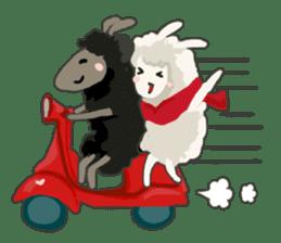 Llama in Love: Happy Valentine sticker #2913663