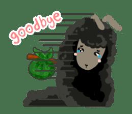 Llama in Love: Happy Valentine sticker #2913664