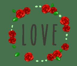 Llama in Love: Happy Valentine sticker #2913665