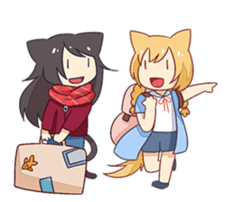 Dango & Mimin sticker #2913743