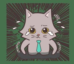 Cool day of businessman Mr. Gates sticker #2914574