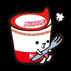 noodle Sticker