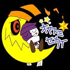 Monsters Sticker of Chotashiki.