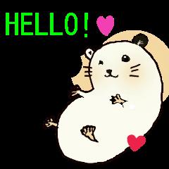 Yukichi of hamster